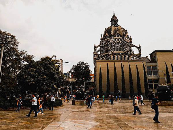 Palacio de la Cultura Rafael Uribe Uribe en Medellín