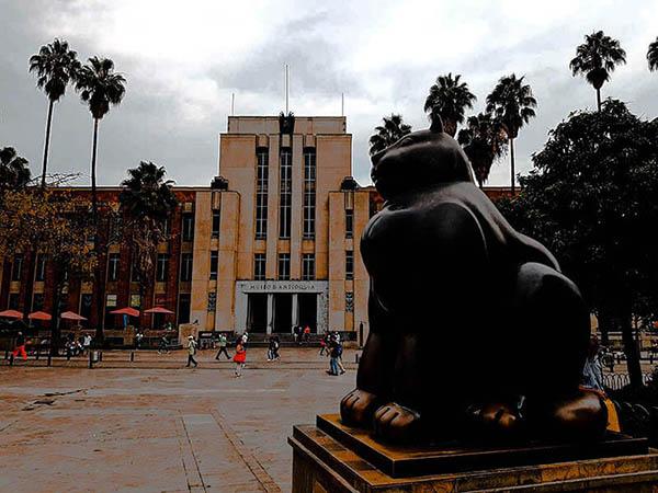 Museo de Antioquia exterior