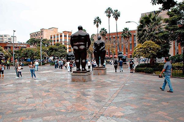 Plaza Botero de Medellín