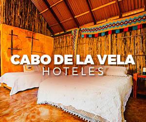 hoteles y hostales cerca a Cabo de la Vela