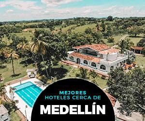 Reserva en los mejores hoteles campestres cerca de Medellín